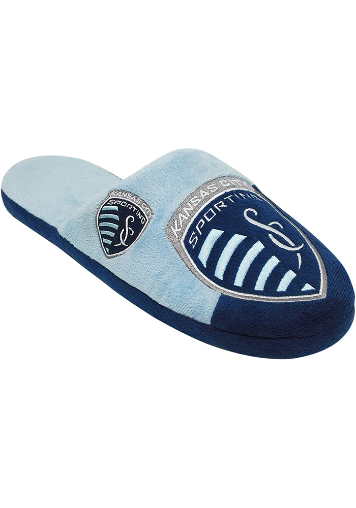 Sporting Kansas City Color Block Slide Slippers - Blue