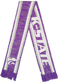 K-State Wildcats Knit Color Blend Scarf - Purple