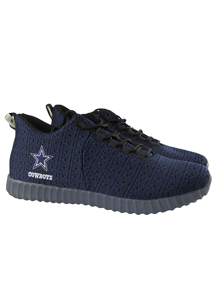 promo code f56f9 3848a Dallas Cowboys Blue Light Up Mens Shoes - Image 1
