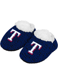 Texas Rangers Baby Poly Knit Slippers - Red