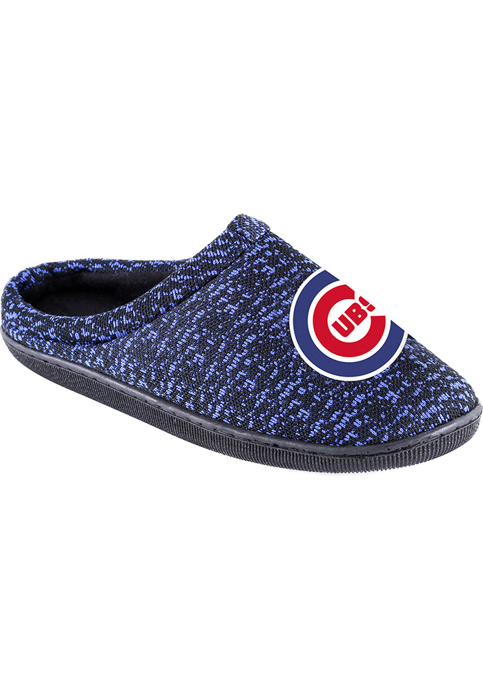 Chicago Cubs Poly Knit Cup Sole Mens Slippers 16052090