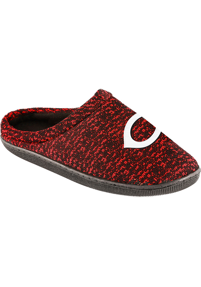 Cincinnati Reds Poly Knit Cup Sole Mens Slippers 16052091
