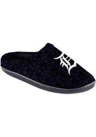 Detroit Tigers Poly Knit Cup Sole Slippers - Orange