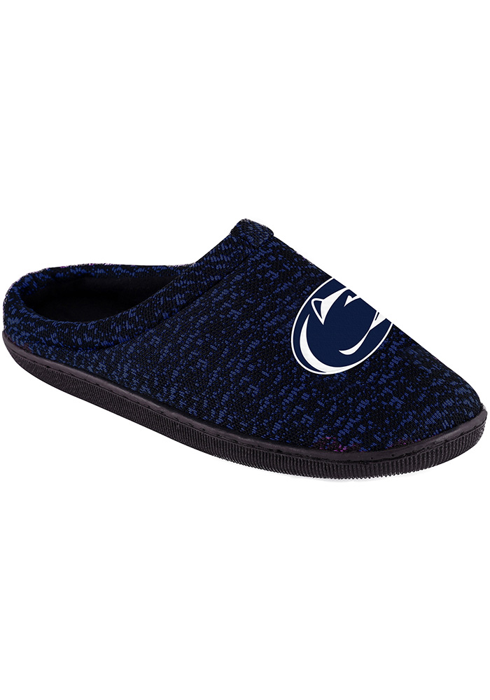 Penn State Nittany Lions Poly Knit Cup Sole Mens Slippers - Image 1