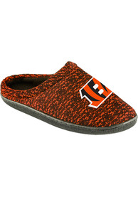 Cincinnati Bengals Poly Knit Cup Sole Slippers - Orange