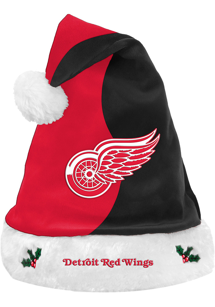 Detroit Red Wings 2017 Basic Santa Hat, Red
