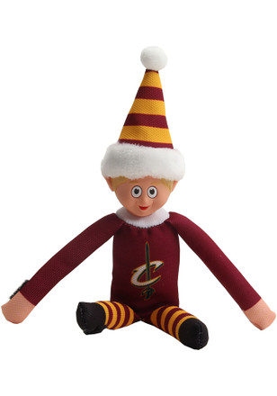 Cleveland Cavaliers Team Elf Decor