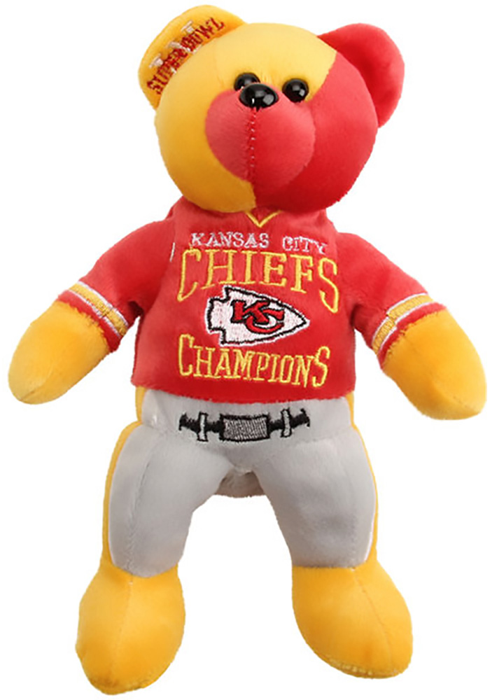 Kansas City Chiefs Super Bowl Champions Thematic Plush - Image 1