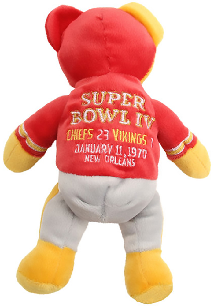 Kansas City Chiefs Super Bowl Champions Thematic Plush - Image 2