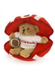 Oklahoma Sooners 7.5 Football Plush