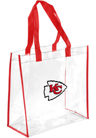 Kansas City Chiefs Stadium Approved Clear Bag - White