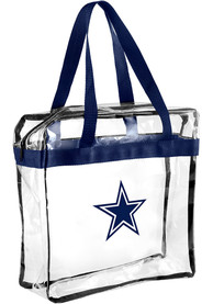 Dallas Cowboys Stadium Approved Clear Bag - White
