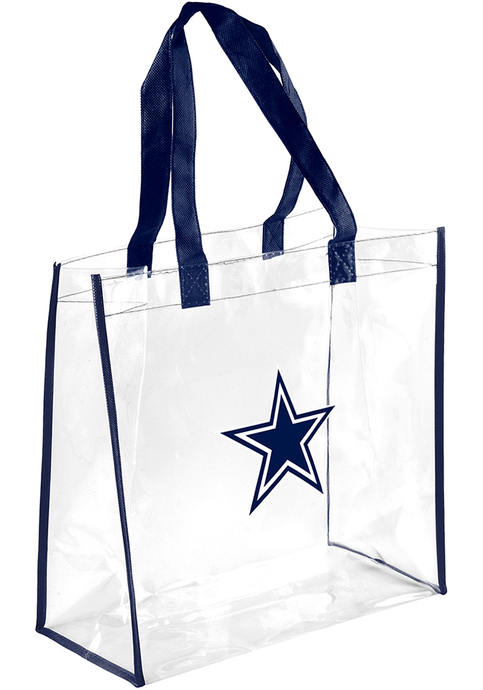 Dallas Cowboys White Stadium Approved Clear Bag - Image 1