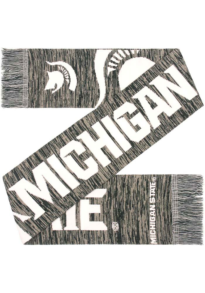 Michigan State Spartans Big Logo Colorblend Mens Scarf - Image 1