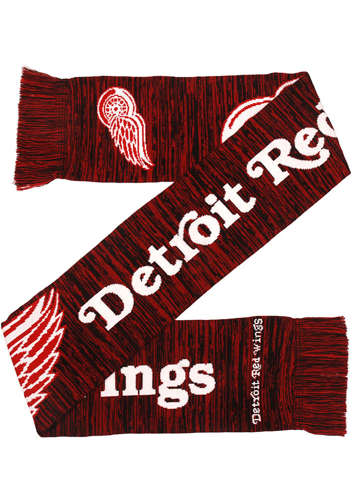 Detroit Red Wings Big Logo Colorblend Mens Scarf - Image 1
