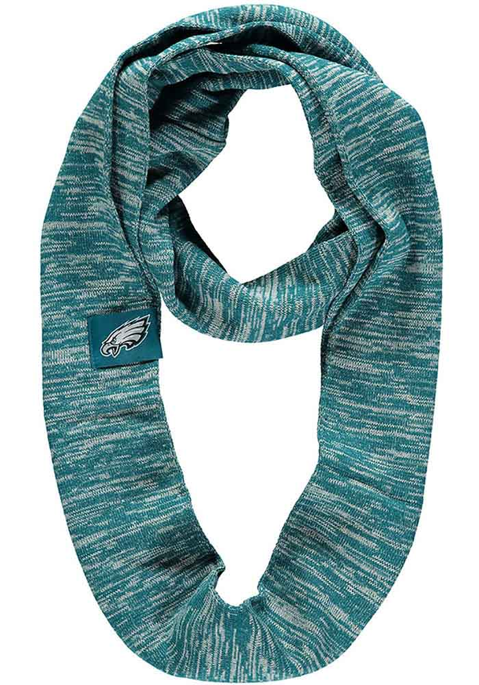 Philadelphia Eagles Colorblend Infinity Womens Scarf - Image 1