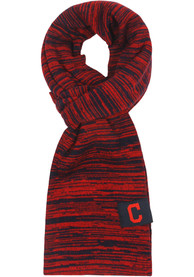 Cleveland Indians Womens Colorblend Infinity Scarf - Navy Blue