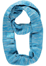 Detroit Lions Womens Colorblend Infinity Scarf - Blue