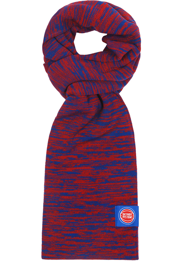 Detroit Pistons Womens Colorblend Infinity Scarf - Blue