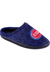 Detroit Pistons Poly Knit Slippers - Blue