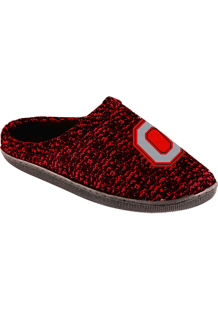 d4af1949ed3f33 Ohio State Buckeyes Poly Knit Mens Slippers - 16052553