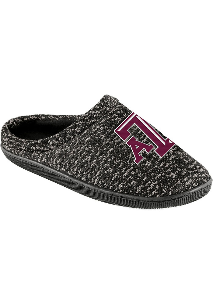 Texas A&M Aggies Poly Knit Mens Slippers - Image 1