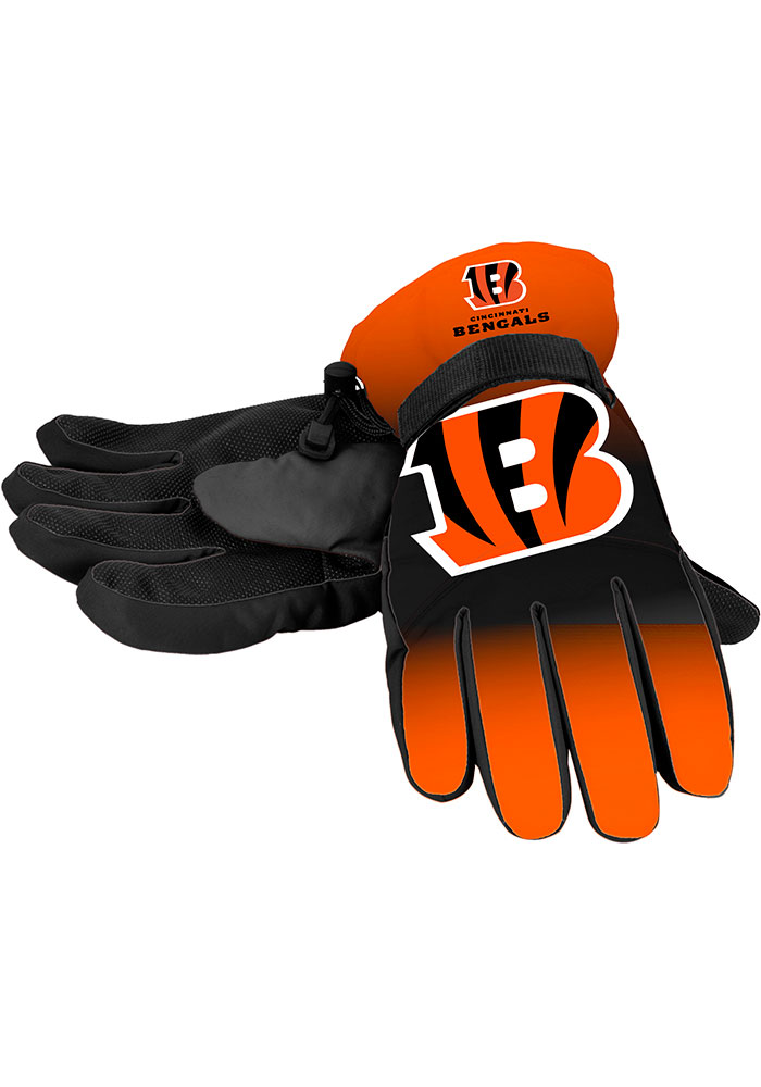 Cincinnati Bengals Big Logo Mens Gloves - Image 1