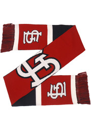 St Louis Cardinals 2019 Reversible Colorblock Scarf - Red