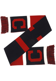 Cleveland Indians 2019 Reversible Colorblock Scarf - Navy Blue