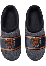 Chicago Bears Grey Cup Sole Slippers - Grey