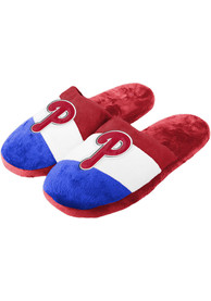 Philadelphia Phillies Youth Colorblock Slippers - Red