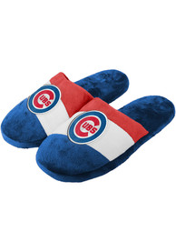 Chicago Cubs Colorblock Slippers - Blue