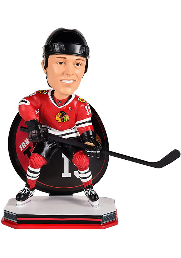 Jonathan Toews Chicago Blackhawks Name and Number Bobblehead - Image 2