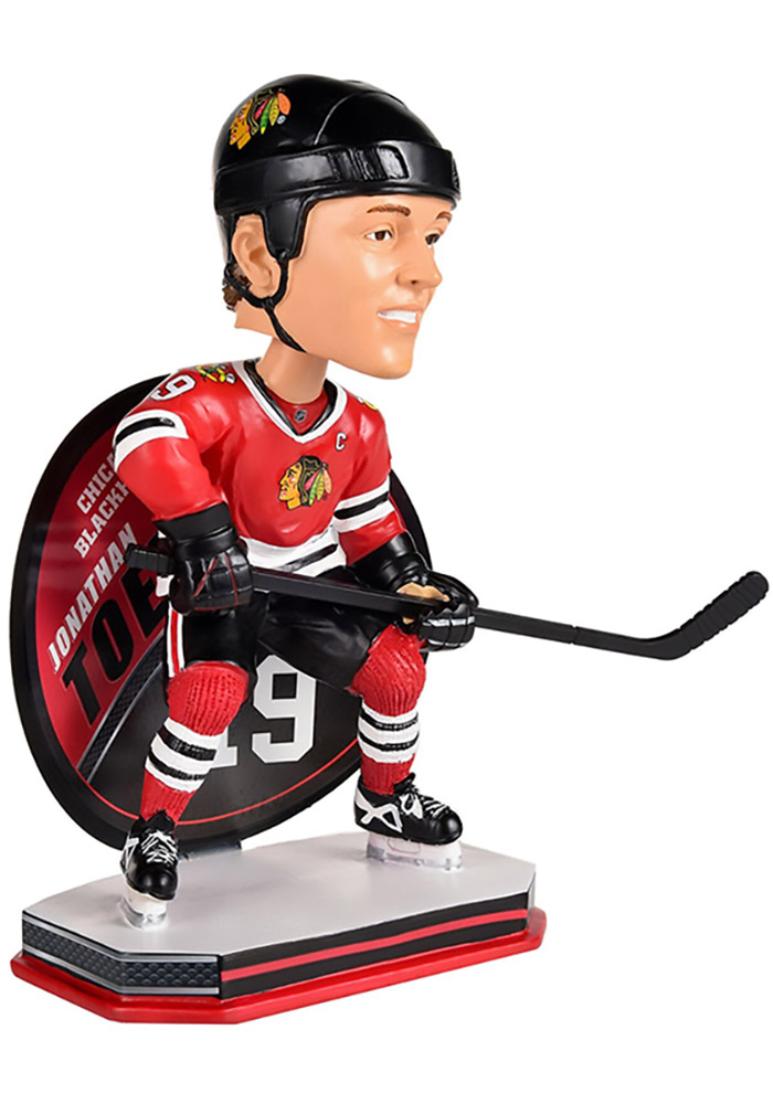 Jonathan Toews Chicago Blackhawks Name and Number Bobblehead - Image 3