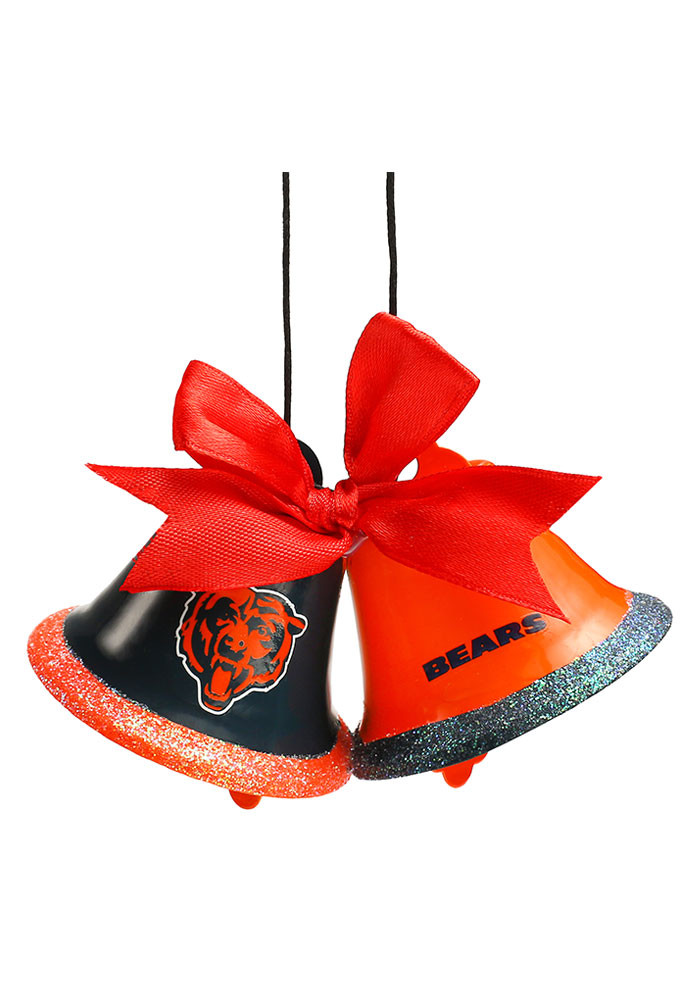 Chicago Bears Two Bells Ornament - Image 1