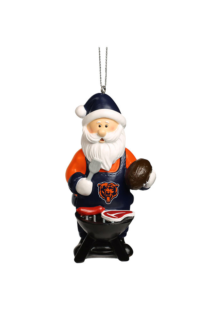 Chicago Bears Santa Grill Ornament - Image 1