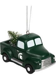 Michigan State Spartans Truck with Tree Ornament