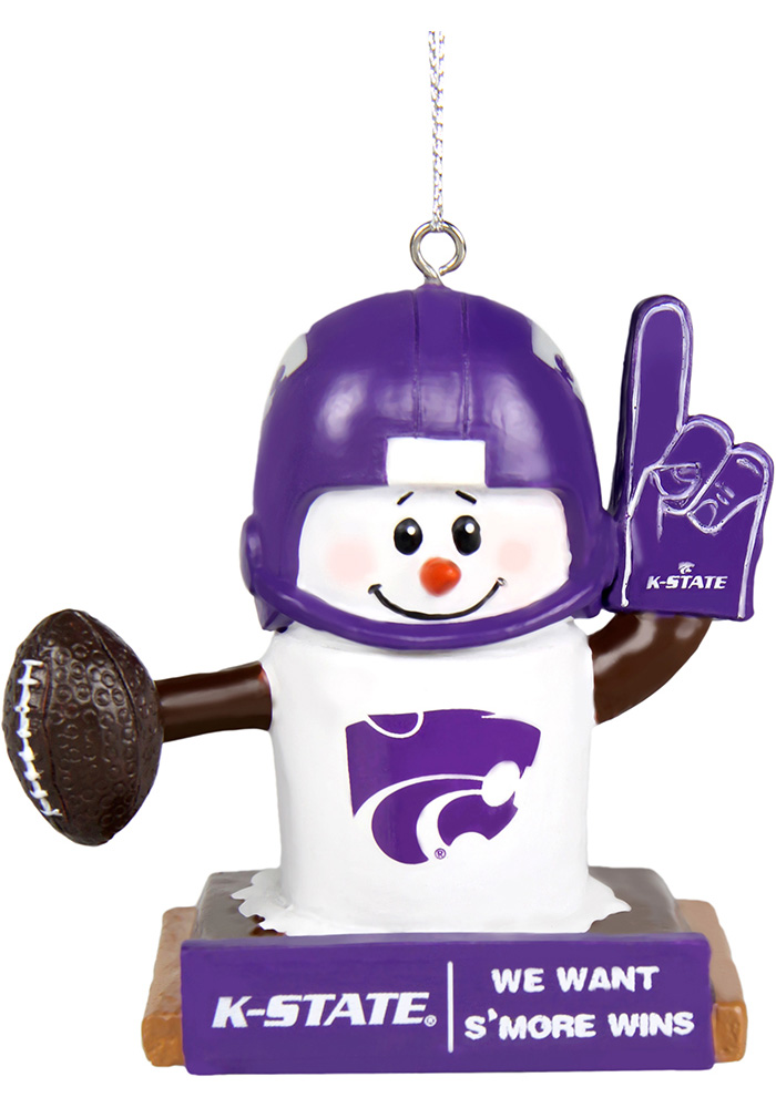 K-State Wildcats Thematic Smores Ornament - Image 1