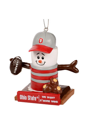 Ohio State Buckeyes Thematic Smores Ornament