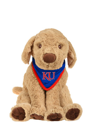 Kansas Jayhawks Bandana Puppy Plush