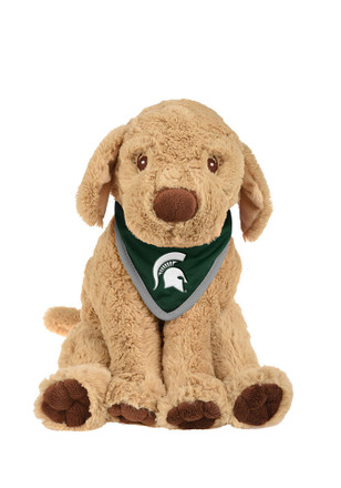 Michigan State Spartans Bandana Puppy Plush