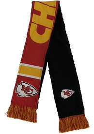 Kansas City Chiefs Sherpa Lined Scarf - Red