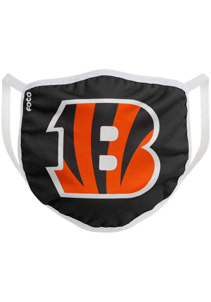 Cincinnati Bengals Big Logo Single Pack Fan Mask - Orange