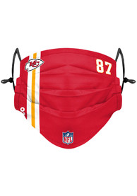 Travis Kelce Kansas City Chiefs Kids Forever Collectibles Travis Kelce Fan Mask - Red