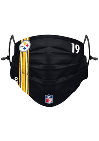 JuJu Smith-Schuster Pittsburgh Steelers Kids Forever Collectibles JuJu Smith-Schuster Fan Mask - Black
