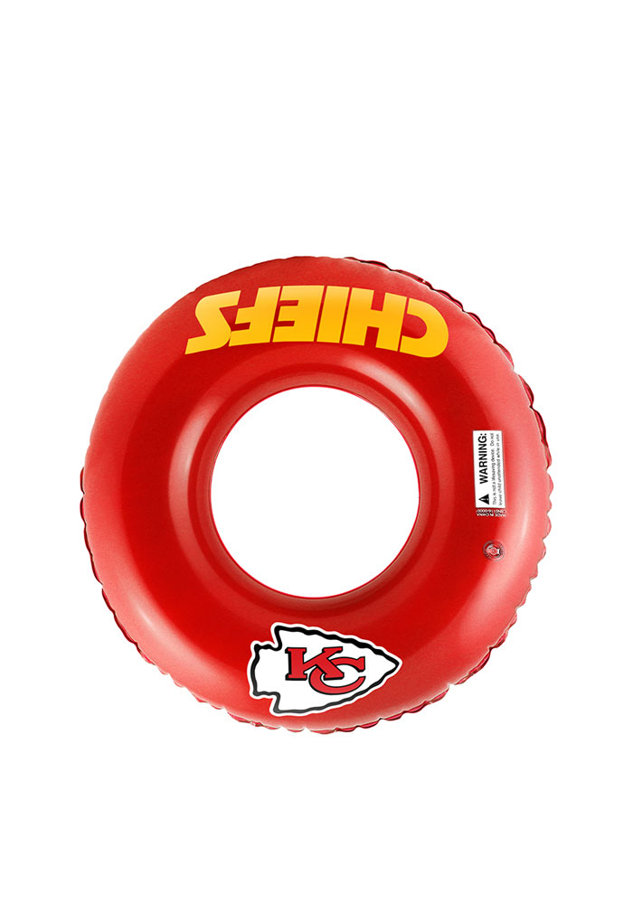 Kansas City Chiefs Inflatable Tube Pool Accessory - Image 1