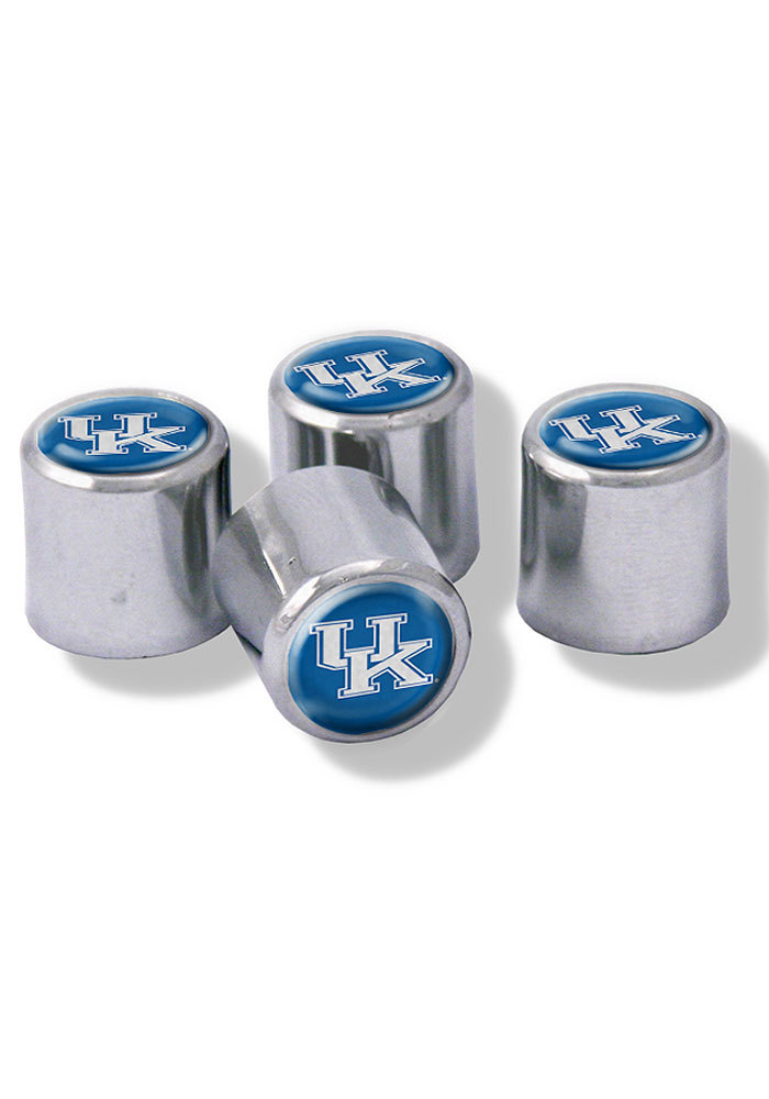 Kentucky Wildcats 4 Pack Auto Accessory Valve Stem Cap - Image 1