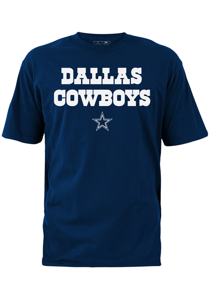 Dallas Cowboys Youth Navy Blue Rally Loud Short Sleeve T-Shirt - Image 1