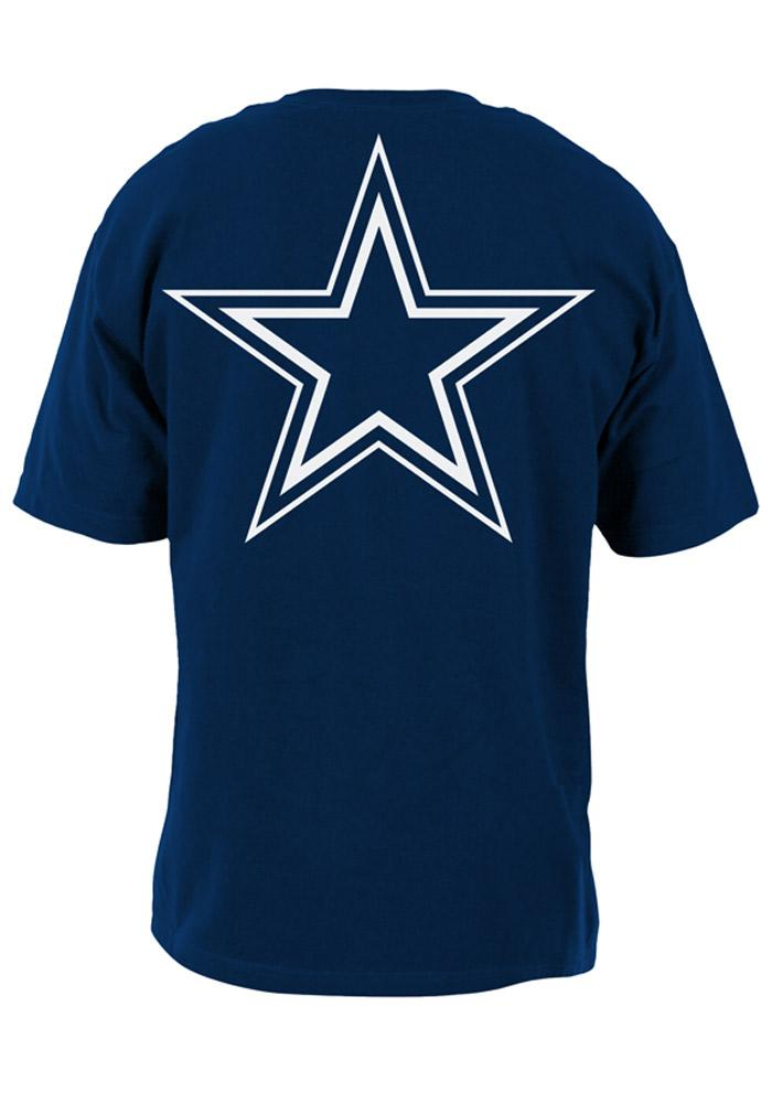 Dallas Cowboys Youth Navy Blue Rally Loud Short Sleeve T-Shirt - Image 3