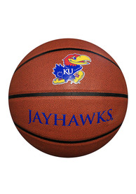 Kansas Jayhawks Deluxe Composite Basketball